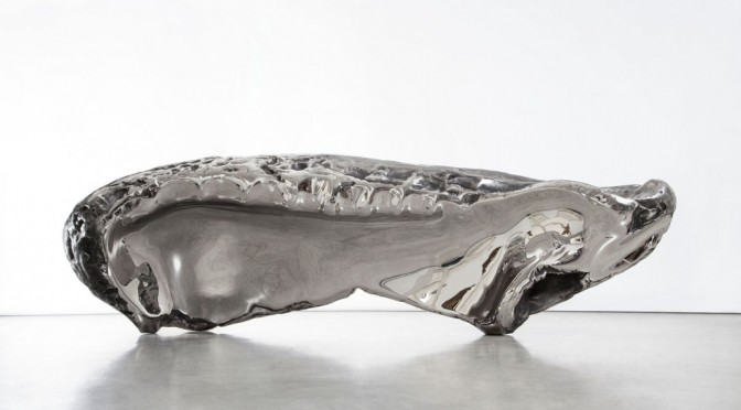 """THE FROZEN WAVE"" BLACKQUBE FEATURES MARC QUINN'S SCULPTURES"
