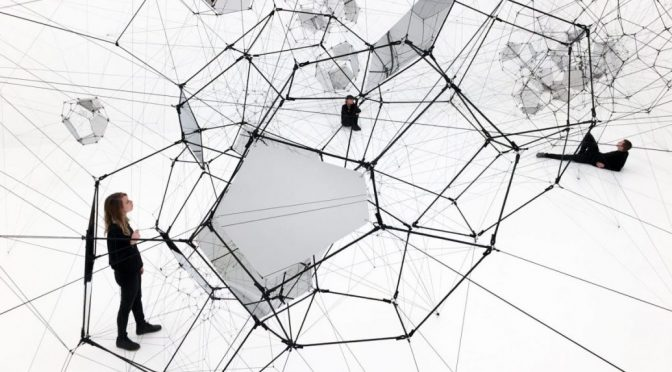 """ON AIR"" THOMAS SARACENO AT PALAIS DE TOKYO PARIS"