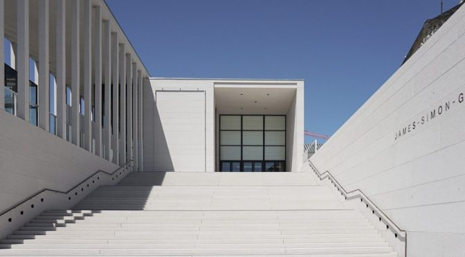 The James Simon Gallery by David Chipperfield