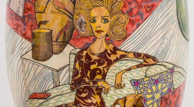 "GRAYSON PERRY ""SUPER RICH INTERIOR DECORATION"" - AT VICTORIA MIRO"