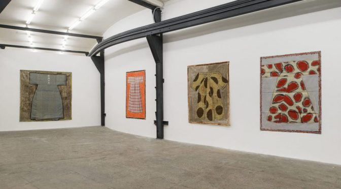 """""""Opere a ripa"""" Isabelle Ducrot's multiple material works at T293 Rome"""