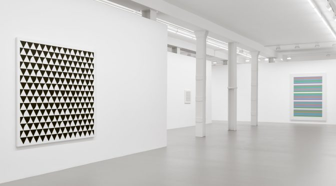 BRIDGET RILEY - NEW PAINTINGS AND WALL WORKS AT MAX HETZLER