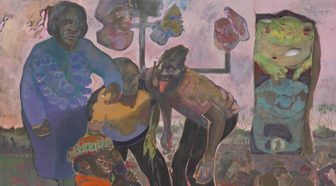 """Paradise Edict"" Michael Armitage at Haus der Kunst"